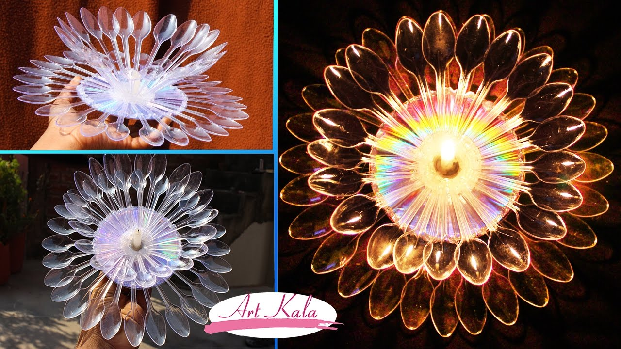 Diy diwali christmas home decoration ideas how to make for How to make diwali decorations at home