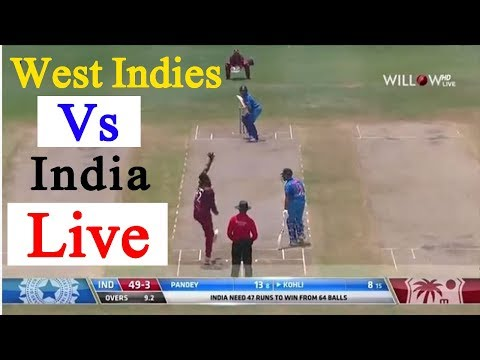 India Vs West Indies Live 2nd ODI Match Star Sports Live Streaming