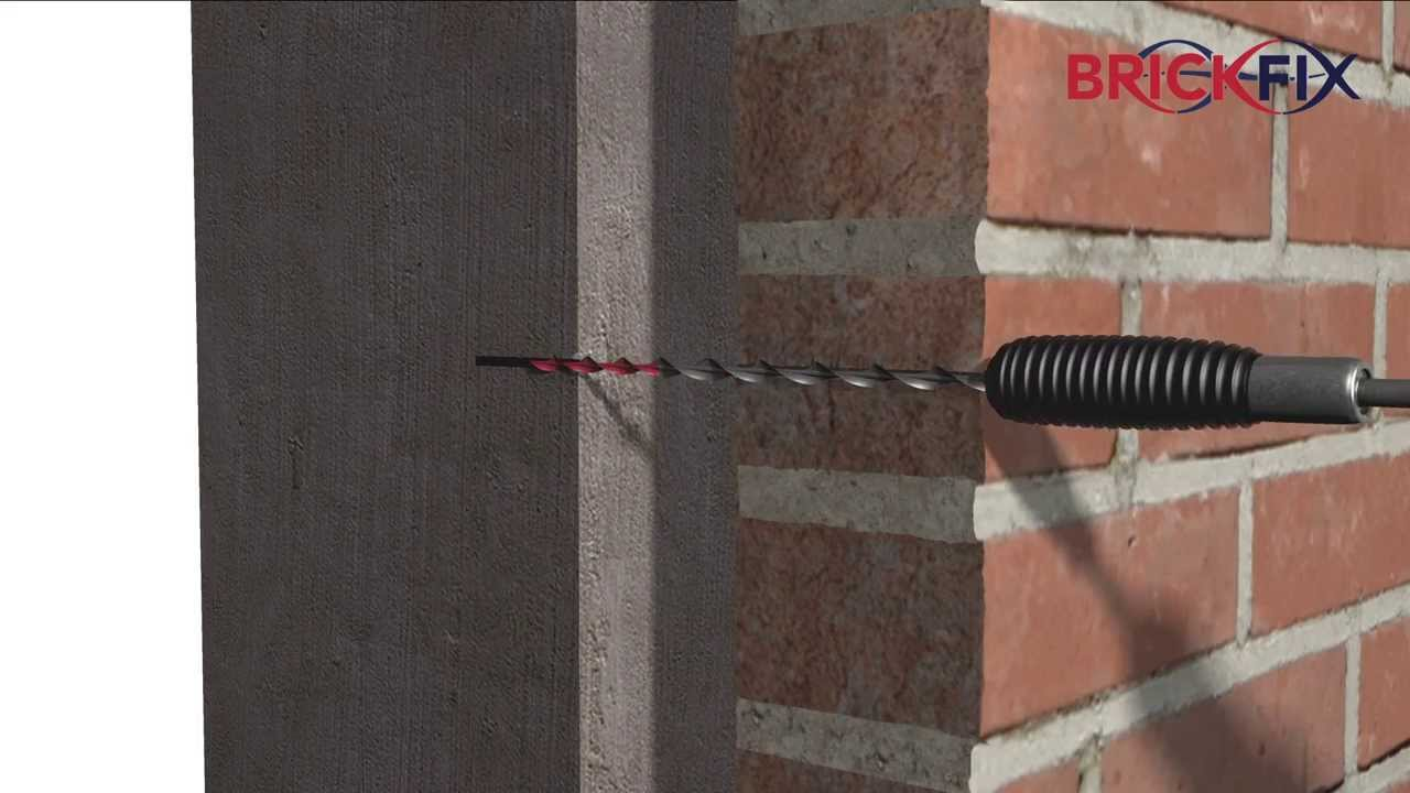 Wall Tie Replacement Brickfix Helical Remedial Wall Ties