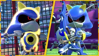 All 24 Events (Metal Sonic gameplay) | Mario & Sonic at the Olympic Games Tokyo 2020 (Switch)