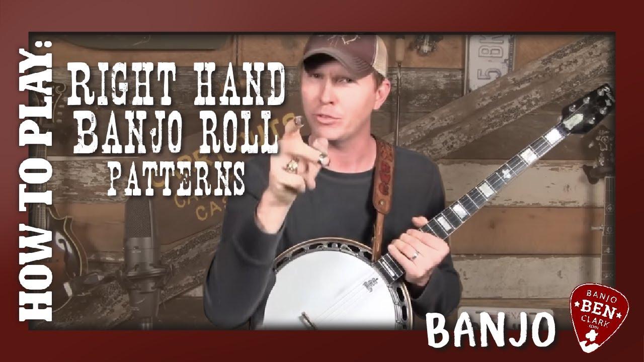 banjo 103 right hand banjo roll patterns youtube. Black Bedroom Furniture Sets. Home Design Ideas