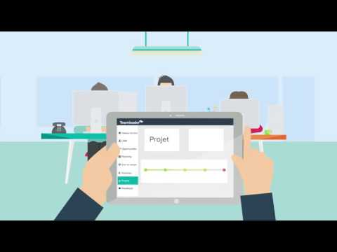 Teamleader: CRM, Gestion de projets, Facturation dans un outil unique, facile et intuitif.
