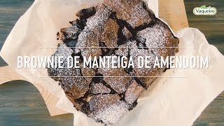 Brownie de Manteiga de Amendoim Vaqueiro
