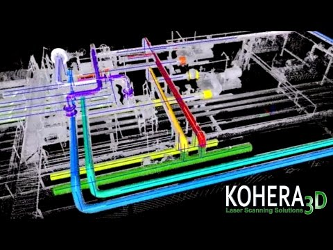 KOHERA3D Piping - Laser Scanning Software