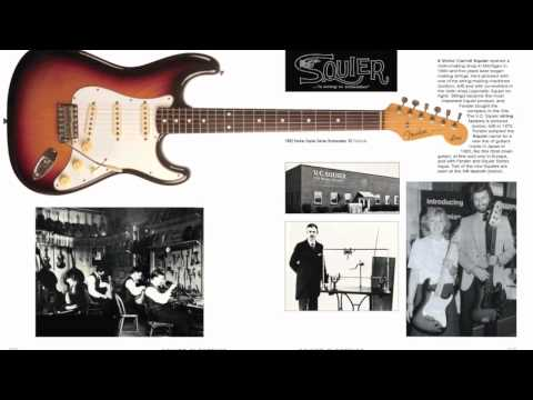 Beautiful Squier Electrics Book from Tony Bacon