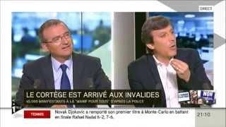 21/04/13 : I-TELE, Débat Hervé Mariton / David Assouline sur le Mariage Pour Tous