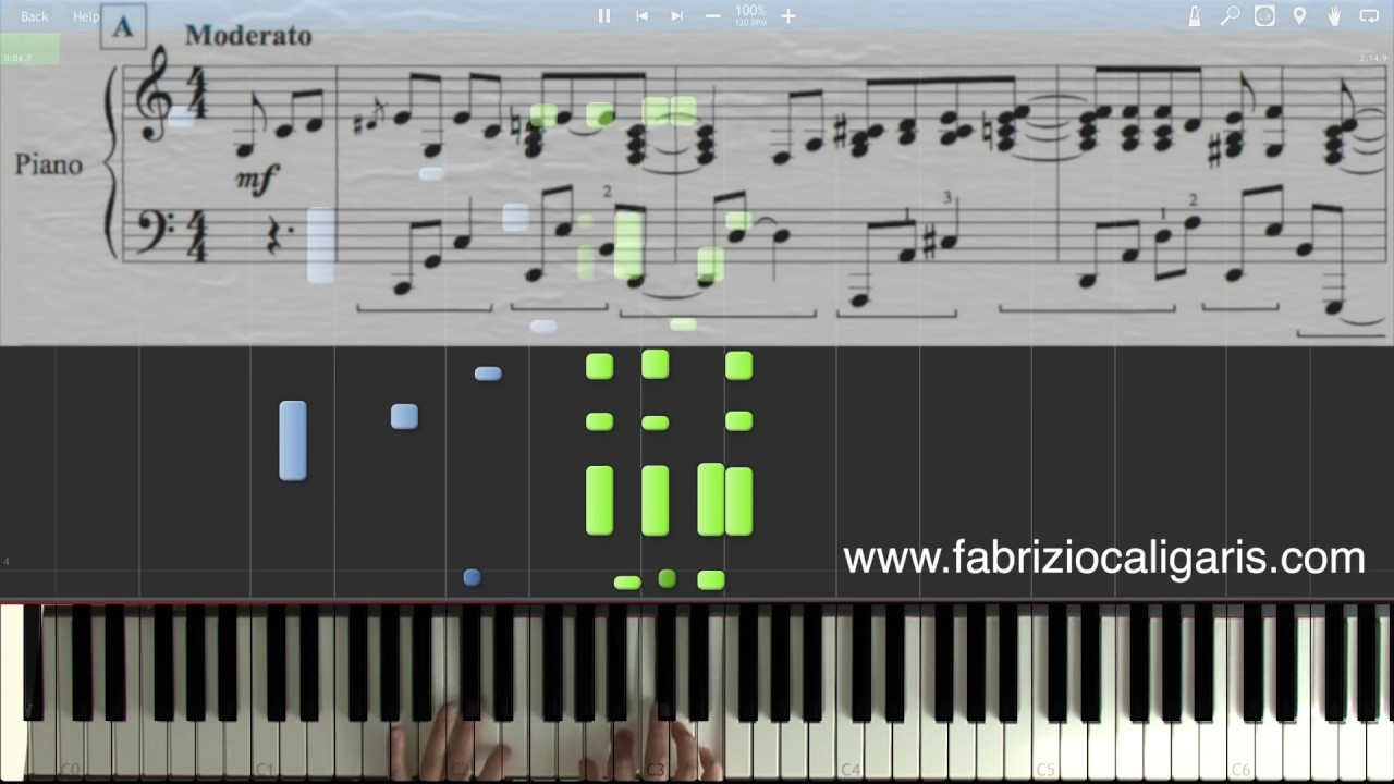 How Deep Is Your Love Piano Cover Tutorial Pdf Midi