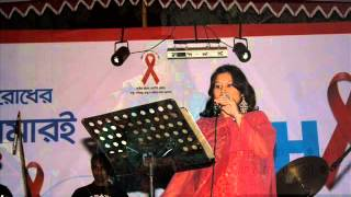 ai dunia akhon to ar by bindiya khan in a radio live