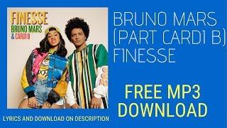 Bruno mars finesse remix feat cardi b ...