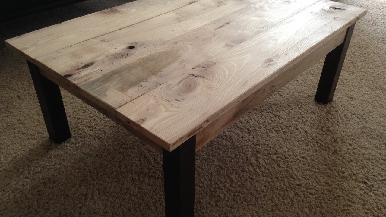 Shaggy Hickory Coffee Table