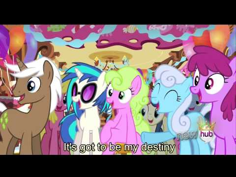 What my Cutie Mark is Telling me [With Lyrics] - My Little Pony Friendship is Magic Song