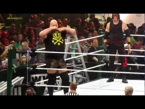 WWE - 2012 Money in the Bank Ladder Match clips