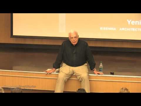 "Peter Eisenman ""Abstraction as Archaeology"" 05.15.2015"
