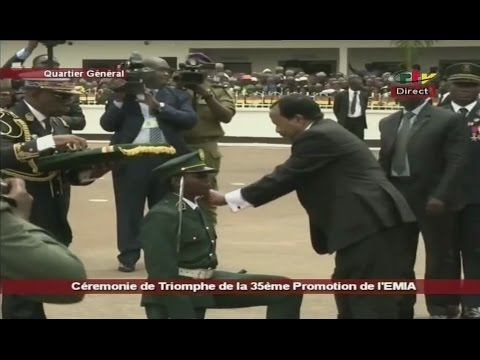 CÉRÉMONIE DE TRIOMPHE DE LA 35ième PROMOTION DE L'ÉMIA (PAIX ET ÉMERGENCE) - Vendredi 21 Avril 2017