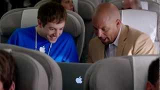 Apple-задрот: в самолете