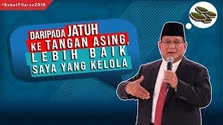 Soal Lahan di Kaltim dan Aceh, Prabowo: Daripada Jatuh ke Tangan Asing, Lebih Baik Saya yang Kelola