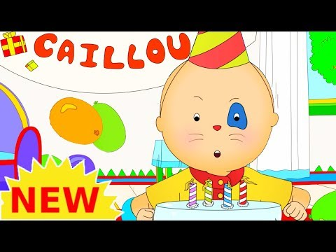 NEW! CAILLOU BIRTHDAY PARTY | Cartoons for kids | Funny Anim