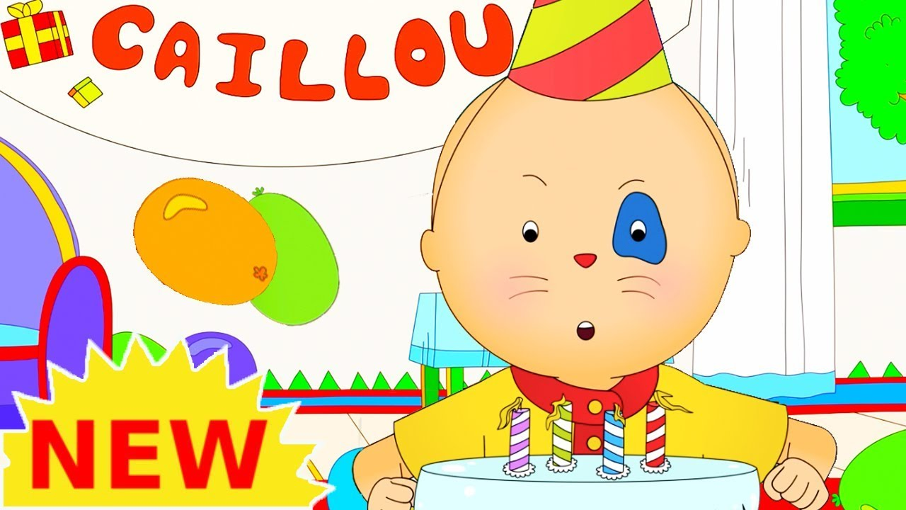 NEW CAILLOU BIRTHDAY PARTY