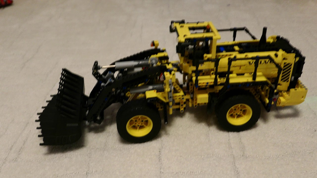 lego technic volvo l350f radlader youtube. Black Bedroom Furniture Sets. Home Design Ideas