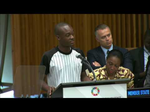 Saul Mwame - Building Africa's Future Foundation - High-level SDG Action Event on Education