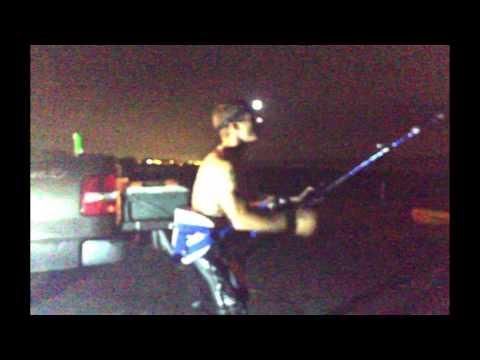 Galveston Texas Shark Fishing 8 foot shark