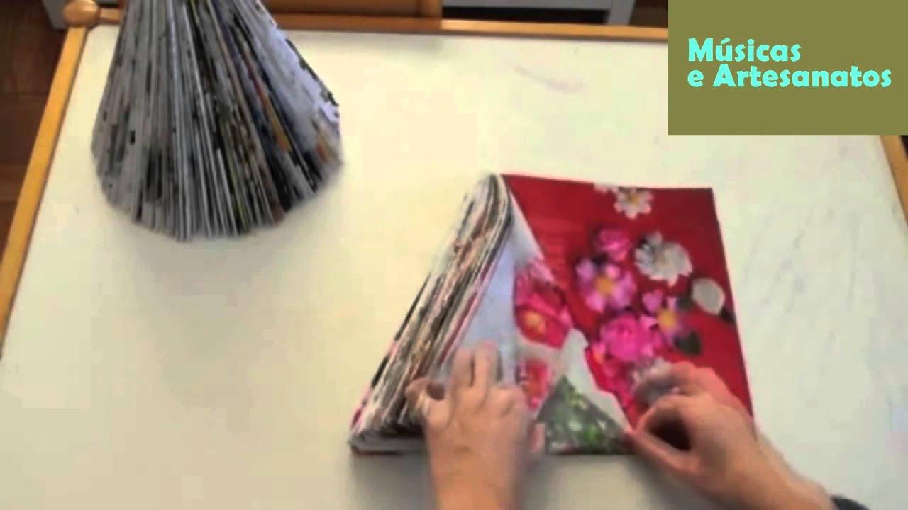 Andrea Artesanato Goiania ~ como fazer artesanato de natal com revista YouTube