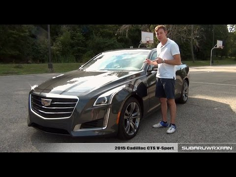 Review 2015 Cadillac CTS V Sport