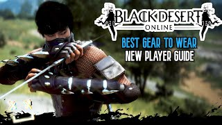 Best Starting Armor For NEW PLAYERS In BLACK DESERT ONLINE (Ps4, Xbox, Pc)