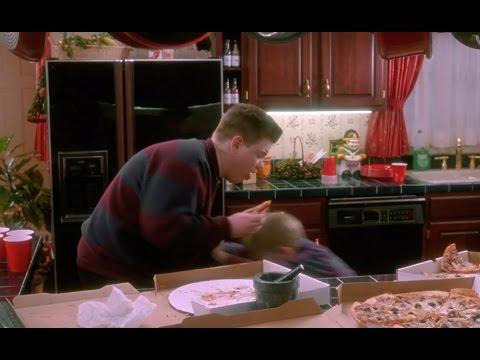 Reszkessetek betörők  Pizza balhé  Buzz felfalja Kevin sajtos pizzáját