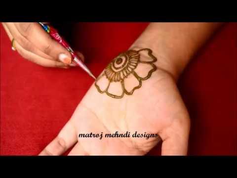 easy arabic simple mehndi designs for hands