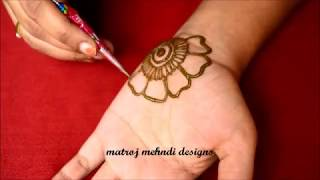 Easy Arabic Mehndi Designs For Hands#Simple Mehndi Designs#Mehndi Designs