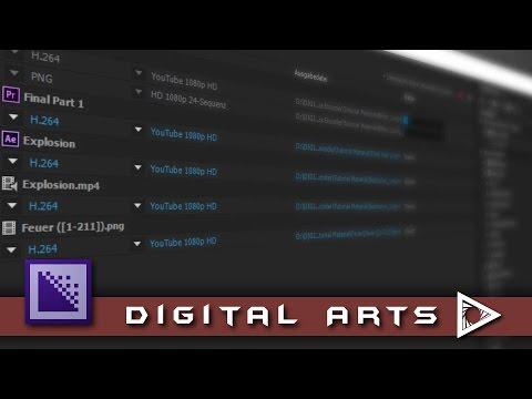 Adobe CC Media Encoder Tutorial GERMAN thumbnail