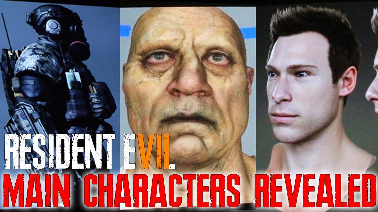 Resident Evil 7 Biohazard Main Characters Zombies Story