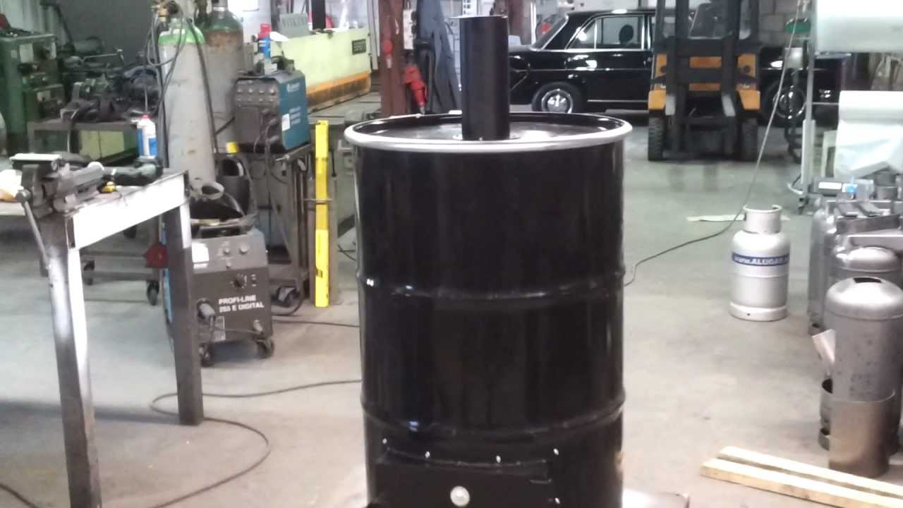Bekend Unit voor drum bbq, Unit for UDS, Ugly Drum Smoker. - YouTube BI76
