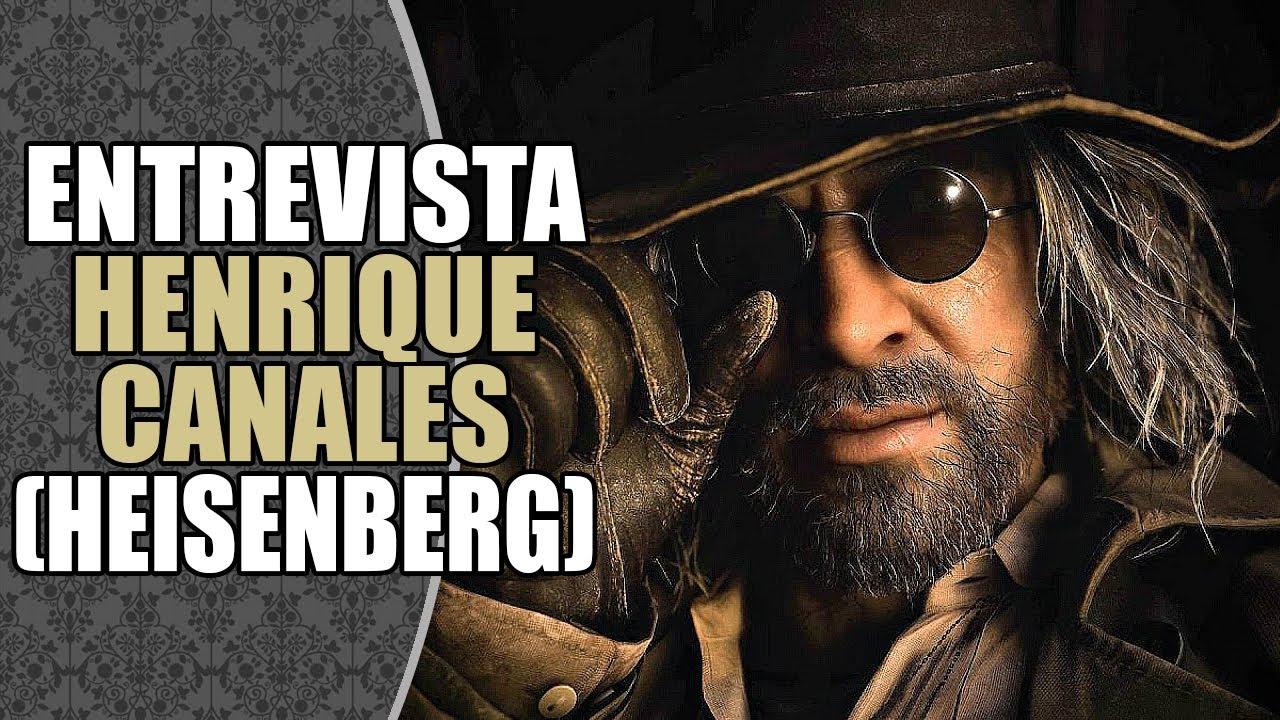 Entrevista com HENRIQUE CANALES, a voz de KARL HEISENBERG ⚙️ em RESIDENT EVIL VILLAGE!