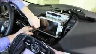 2013 Ford Escape MyFord Touch Screen Removal