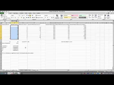 Some Single-Variable Statistics in Open Office Calc from YouTube · Duration:  5 minutes 2 seconds