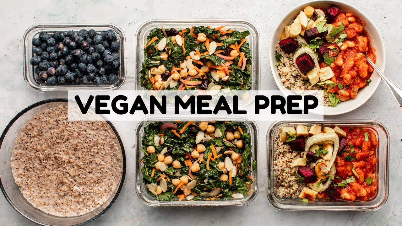 Healthy Vegan Meal Prep (Soy Free)