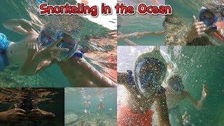We went snorkeling in the deep sea! (Ibiza Vlog 2)