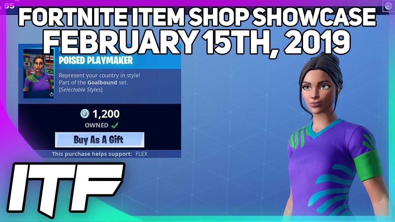 Fortnite Item Shop Soccer Skins Are Back February 15th 2019