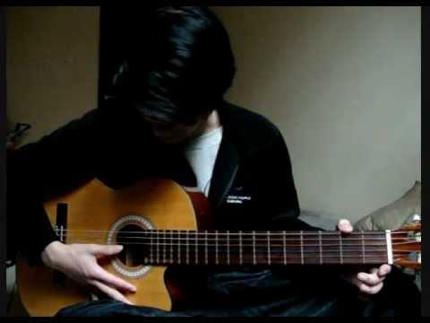 Akustik Gitar - Melody Bentuk C (Latihan Dengan Lagu Doraemon)