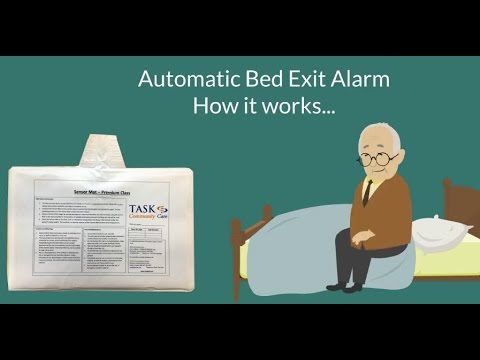 Bed Exit Alarm Bed Sensor Pad Automatic Fall Detector