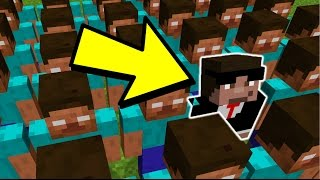 WHO IS THE REAL HEROBRINE ? PRANK MINECRAFT