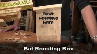 Build A Bat Box With Hand Tools