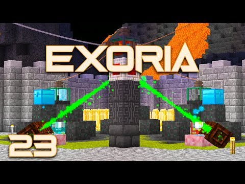 Exoria EP23 Item Transport + Botania RF Power
