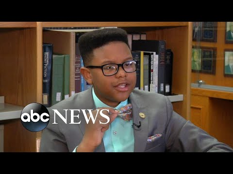 Willie Moore Jr. - Did you see this? 11-year-old boy genius starts first semester in college