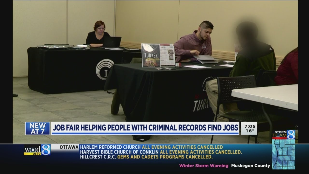 How To Find Criminal Records >> Job Fair Helps Those With Criminal Records Find Employment Youtube