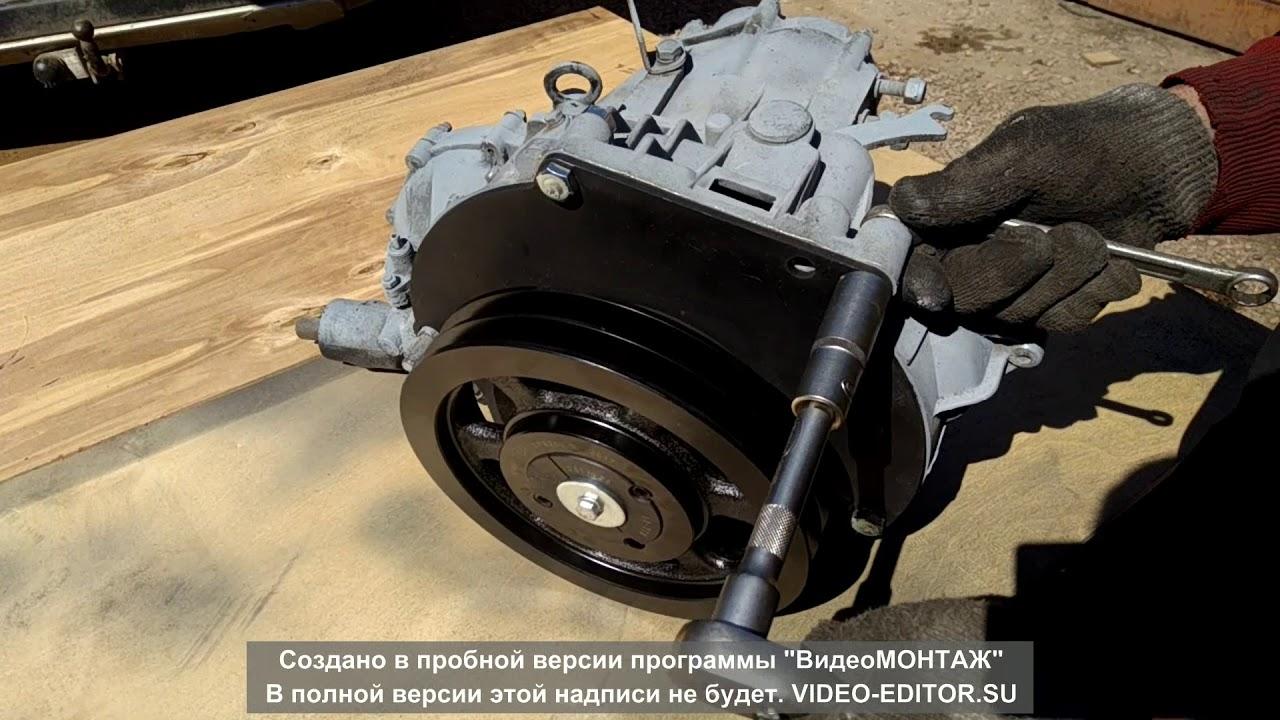 Ременной привод на КПП ВАЗ2108 2109