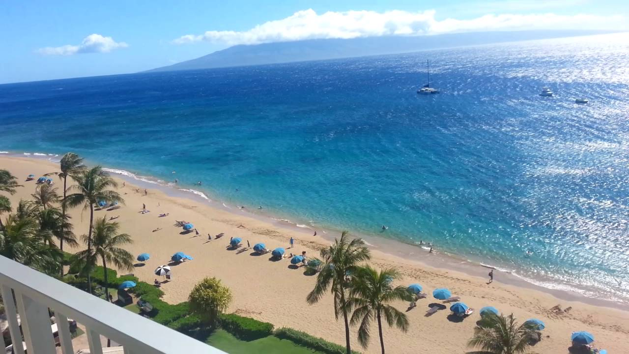 Our Oceanfront Room At The Westin Maui Resort And Spa Youtube