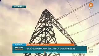 Cayó la demanda eléctrica en Mendoza durante el 2017